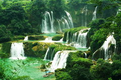 Cachoeira - detian Fotos de Stock
