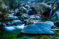 Cachoeira do barong de Curug Fotografia de Stock
