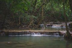 Cachoeira do córrego fotografia de stock royalty free