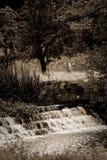 Cachoeira do córrego do Sepia, passeio rural Imagens de Stock