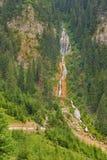 Cachoeira do cavalo em Romênia Fotografia de Stock