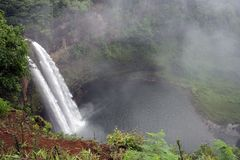 Cachoeira do console da fantasia Imagens de Stock Royalty Free