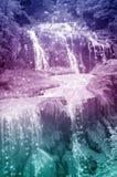 Cachoeira do conto de fadas fotografia de stock royalty free