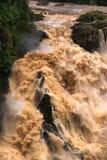 Cachoeira do desfiladeiro de Barron fotos de stock royalty free