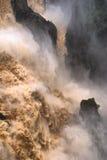 Cachoeira do desfiladeiro de Barron foto de stock royalty free
