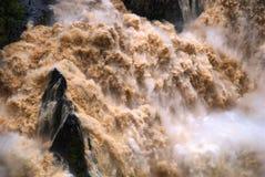 Cachoeira do desfiladeiro de Barron imagens de stock