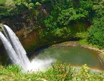 Cachoeira do dia Fotografia de Stock