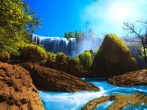 Cachoeira do elefante Foto de Stock Royalty Free