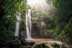 Cachoeira do Fahrenheit de Mork Foto de Stock