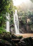 Cachoeira do Fahrenheit de Mork Fotografia de Stock