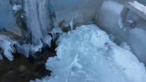 Cachoeira do gelo Fotografia de Stock