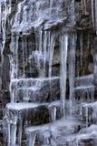 Cachoeira do gelo fotos de stock