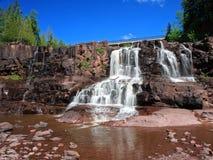 Cachoeira do Gooseberry imagem de stock