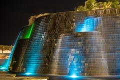 Cachoeira do hotel imagem de stock royalty free