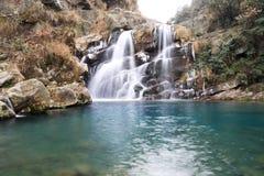 Cachoeira do inverno Imagem de Stock Royalty Free