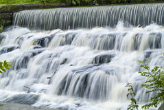 Cachoeira do movimento lento Fotos de Stock