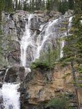 cachoeira do Multi-nível em Jasper National Park Fotografia de Stock