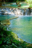 Cachoeira do paraíso em Laos Fotos de Stock