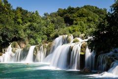Cachoeira do parque nacional de Krka Imagem de Stock Royalty Free