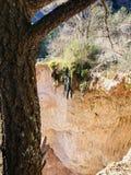 Cachoeira do penhasco da montanha imagem de stock royalty free