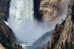 Cachoeira do ponto do artista de Yellowstone imagens de stock