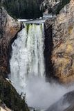 Cachoeira do ponto do artista de Yellowstone foto de stock royalty free