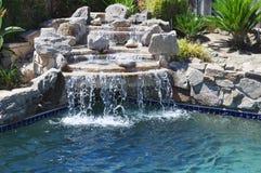 Cachoeira do quintal Fotografia de Stock Royalty Free