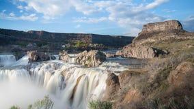 Cachoeira do Shoshone em um dia ensolarado fotografia de stock