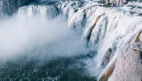 Cachoeira do Shoshone rujir, Idaho fotos de stock royalty free
