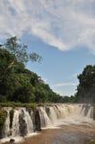 Cachoeira do Tad-Pa Suam. Imagem de Stock Royalty Free