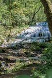 Cachoeira do tyol do ¡ de FÃ no vale de Szalajka-, Hungria imagens de stock