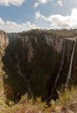 Cachoeira do véu das noivas em Itaimbezinho Brasil Imagem de Stock
