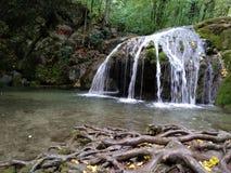 Cachoeira do verão de Crimeia Imagens de Stock