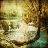 Cachoeira do vintage Foto de Stock