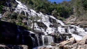 Cachoeira do ya de Mae no movimento lento filme