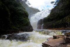 Cachoeira dos Couros, na Chapada dos Veadeiros, Brasil - Zdjęcia Royalty Free