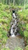 Cachoeira dos fiordes de Noruega foto de stock royalty free