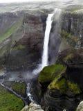 A cachoeira dos ifoss do ¡ de HÃ fotos de stock