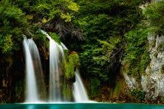 Cachoeira dos lagos Plitvice Imagem de Stock