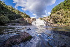 Cachoeira dos Venancios. Waterfall located in Rio Grande do Sul, Brazil Stock Images