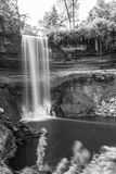 Cachoeira durante o outono Imagem de Stock Royalty Free