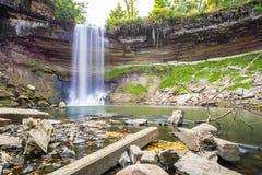Cachoeira durante o outono Fotografia de Stock Royalty Free