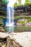 Cachoeira durante o outono Imagem de Stock