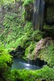 Cachoeira e associação de Westcave Imagens de Stock Royalty Free