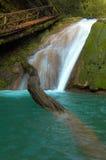 Cachoeira e feixe grande fotografia de stock royalty free