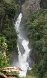 Cachoeira em Amazónia Fotos de Stock