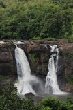 Cachoeira em Athirapally, Kerala Imagem de Stock Royalty Free
