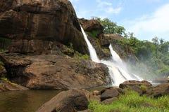 Cachoeira em Athirapally, Kerala imagem de stock