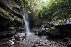 Cachoeira em Bali Fotografia de Stock Royalty Free