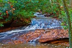 Cachoeira em Brevard, NC Fotos de Stock Royalty Free